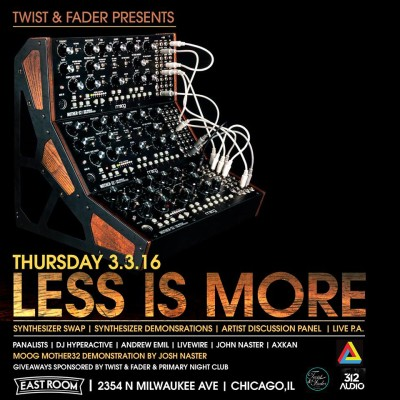 (03.03.16) Less Is More
