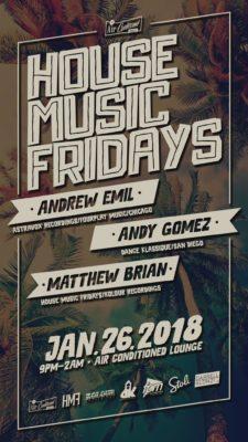 (01.26.18) HMF feat. Andrew Emil
